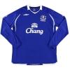 2008-09 Everton Home Shirt Yakubu #22 L/S XL
