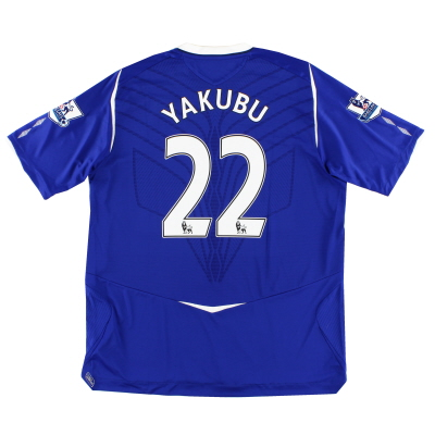 2008-09 Everton Home Shirt Yakubu #22 XL