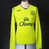 2008-09 Everton Third Shirt Arteta #10 L/S XL