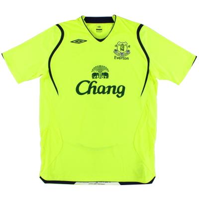 2008-09 Everton Umbro Third Shirt L