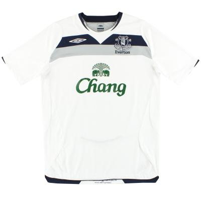 2008-09 Everton Umbro Away Shirt L