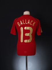 2008-09 Germany Away Shirt Ballack #13 L