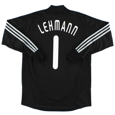2008-09 Germany Goalkeeper Shirt Lehmann #1 S