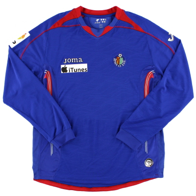 2008-09 Getafe Player Issue Home Shirt #10 L/S L
