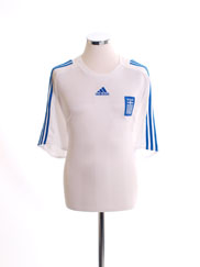 2008-09 Greece Away Shirt *Mint* XL