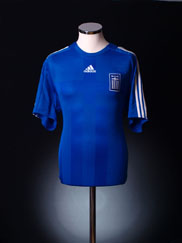 2008-09 Greece Home Shirt *As New* XL.Boys