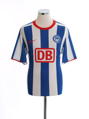 2008-09 Hertha Berlin Home Shirt #20 L