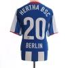 2008-09 Hertha Berlin Home Shirt #20 L
