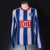 2008-09 Hertha Berlin Player Issue Home Shirt #11 L/S M