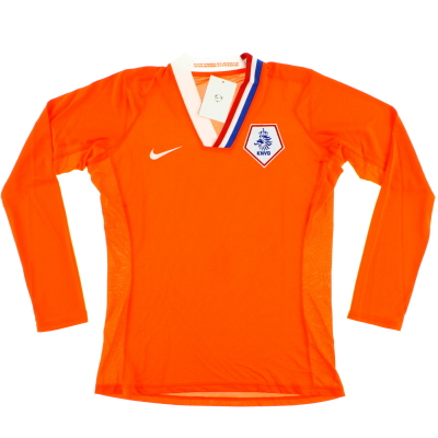 2008-09 Holland Player Issue Home Shirt L/S *w/tags* Womens