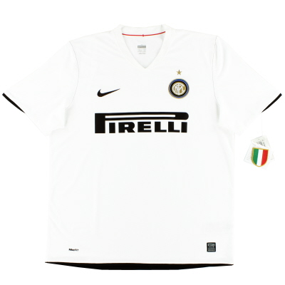 2008-09 Inter Milan Away Shirt *BNWT* XL
