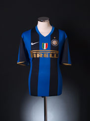 2008-09 Inter Milan Home Shirt XL