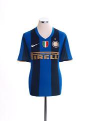 2008-09 Inter Milan Home Shirt M