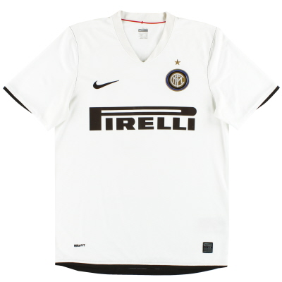 2008-09 Inter Milan Nike Away Shirt M