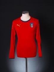 2008-09 Italy Goalkeeper Shirt M