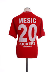 2008-09 Kickers Offenback Home Shirt Mesic #20 L
