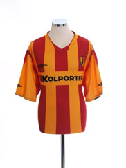 2008-09 Korona Kielce Home Shirt