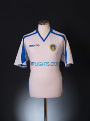 2008-09 Leeds Home Shirt S