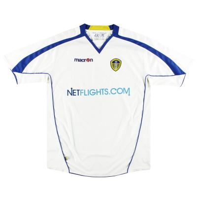 2008-09 Leeds Macron Home Shirt XXL