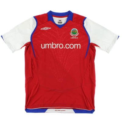 2008-09 Linfield Away Shirt M