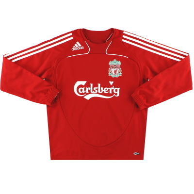 2008-09 Liverpool adidas Sweatshirt L/XL