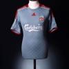 2008-09 Liverpool Away Shirt Gerrard #8 S