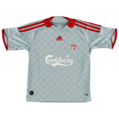 2008-09 Liverpool Away Shirt S.Boys