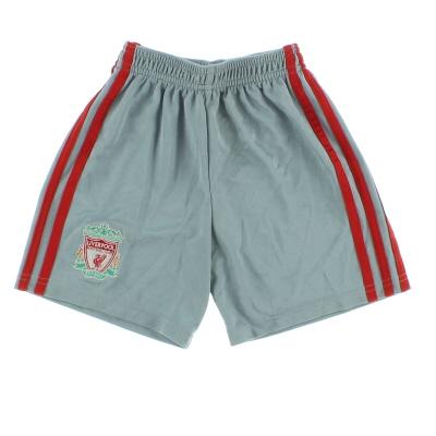 2008-09 Liverpool adidas Away Shorts Y