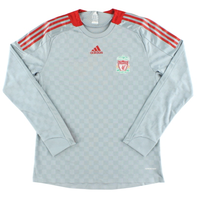 2008-09 Liverpool Player Issue Away Shirt L/S XL