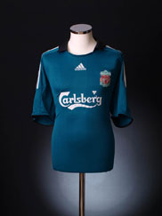 2008-09 Liverpool Third Shirt XS.Boys