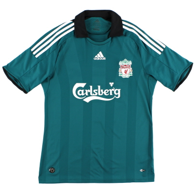 2008-09 Liverpool Third Shirt L.Boys