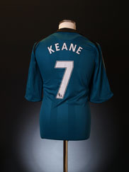2008-09 Liverpool Third Shirt Keane #7 L