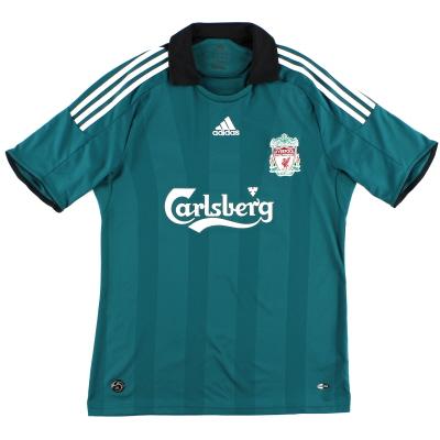 2008-09 Liverpool Third Shirt *Mint* M