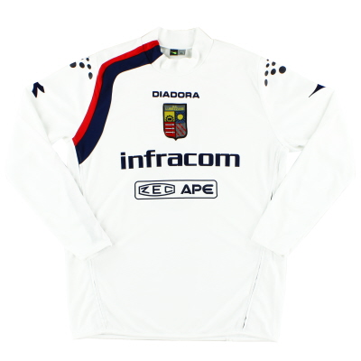 2008-09 Lumezzane Away Shirt #5 L/S XL