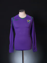 2008-09 Malaga Away Shirt *BNIB* L/S S