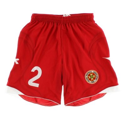 2008-09 Malta Match Issue Away Shorts #2 S