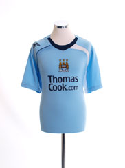 2008-09 Manchester City Home Shirt L