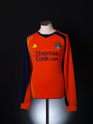 2008-09 Manchester City Third Shirt L/S L