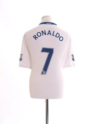 2008-09 Manchester United Away Shirt Ronaldo #7 *BNWT* XL