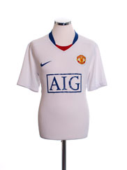 2008-09 Manchester United Away Shirt XXL