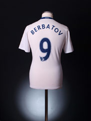 2008-09 Manchester United Away Shirt Berbatov #9 M
