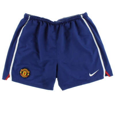2008-09 Manchester United Away Shorts XL