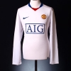 2008-09 Manchester United Away Shirt Anderson #8 L/S L
