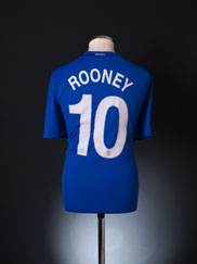 2008-09 Manchester United CL Third Shirt Rooney #10 XL