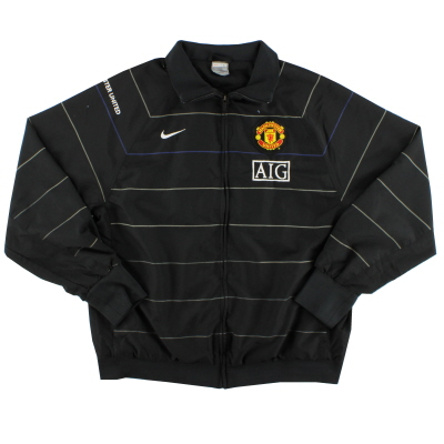 2008-09 Manchester United Nike Woven Jacket L