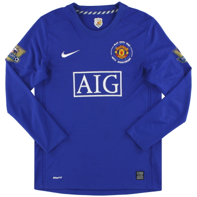 2008-09 Manchester United Nike Third Shirt L/S XL.Boys