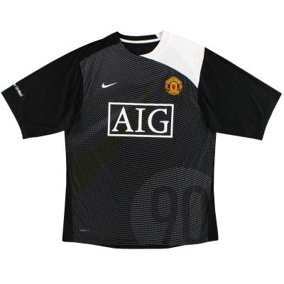 2008-09 Manchester United Nike Training Shirt *Mint* M