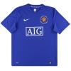 2008-09 Manchester United Nike Third Shirt Ferdinand #5 L