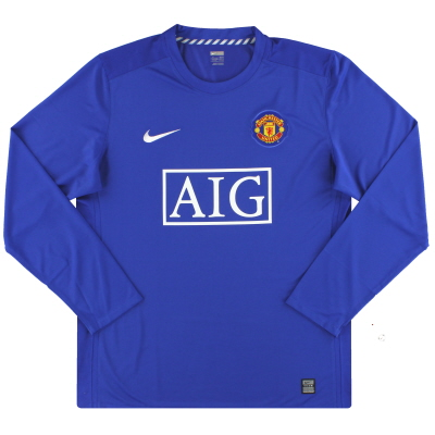 2008-09 Manchester United Nike Player Issue Third Shirt L/S *BNIB* XL