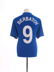 2008-09 Manchester United Third Shirt Berbatov #9 L